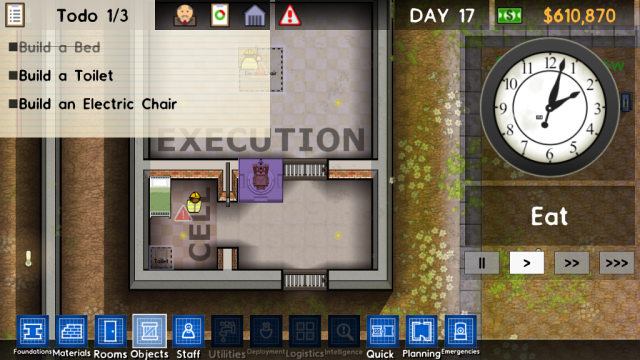Prison Architect GUI