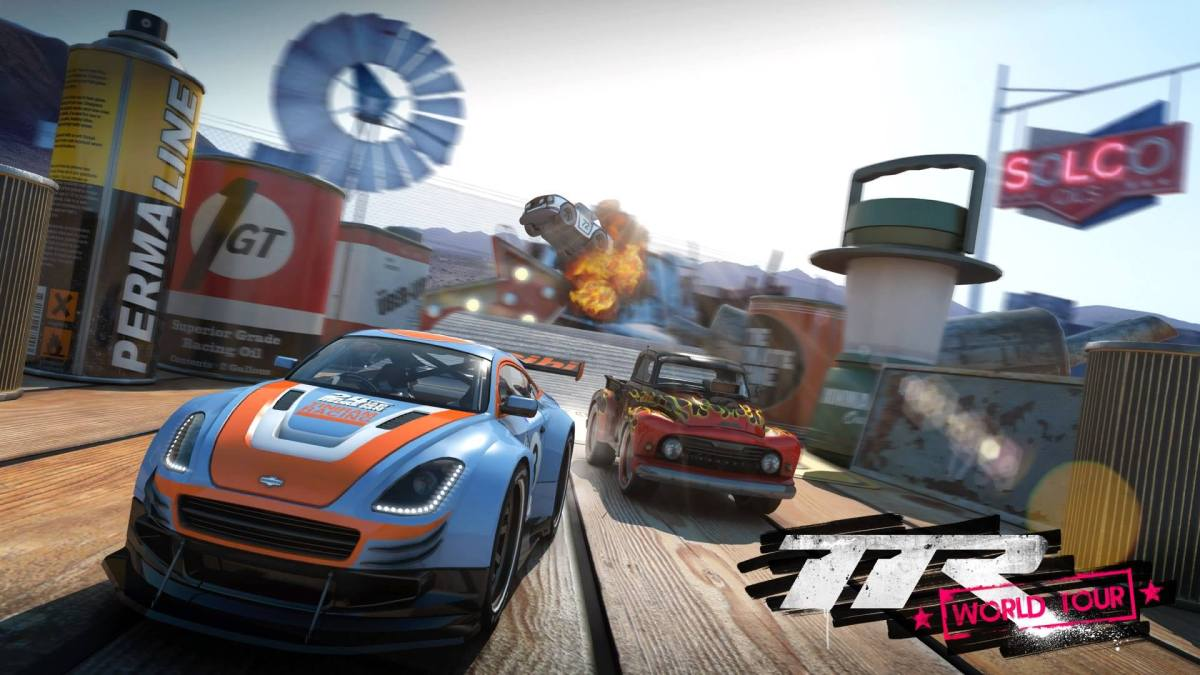 Video Game Review: Table Top Racing: WorldTour