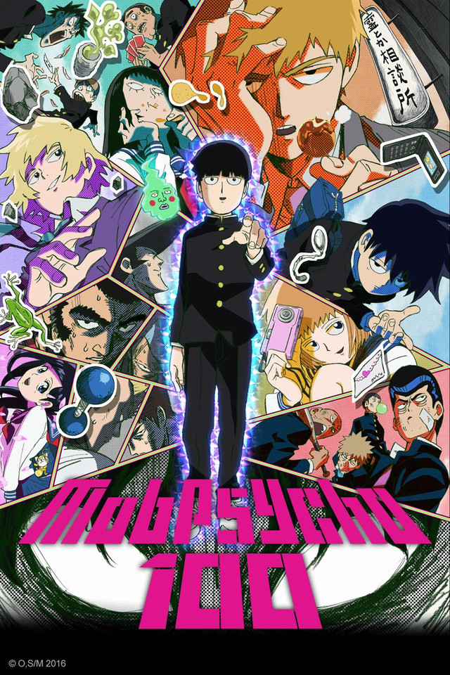 Anime Review: Mob Psycho 100
