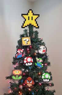 Geek Christmas.Decorating Your Tree In The Geekiest Way Geekmas Tree