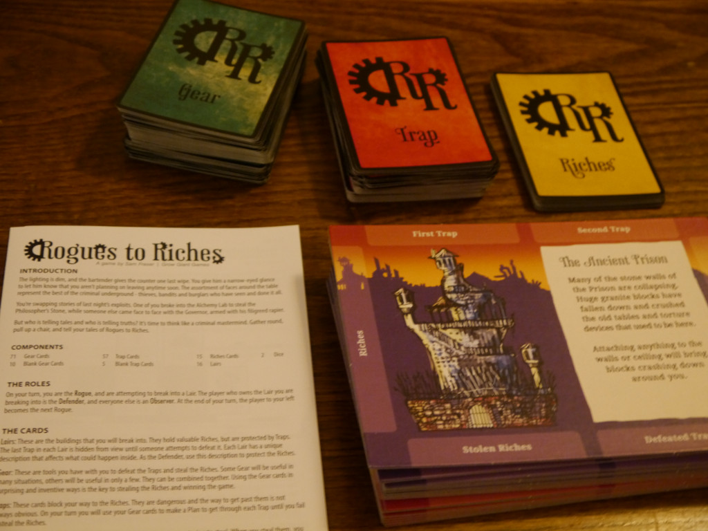 Board Game Review: Rogues toRiches