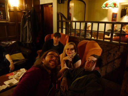 The meet was cosier at the last New Years Eve event.