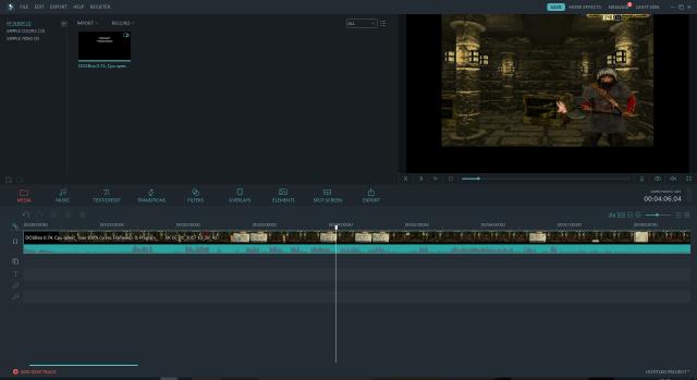 My new editing software: Wondershare Filmora