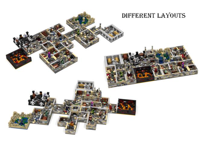 Dungeon Master Lego