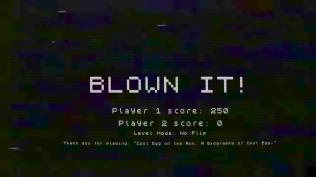 Ah, I've blown it!