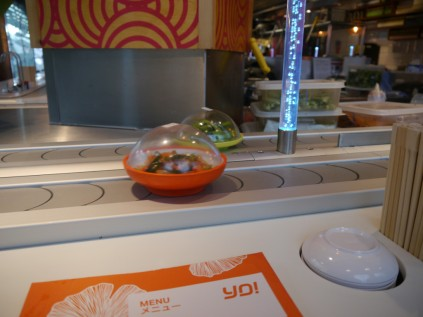 Yo! Sushi to begin with