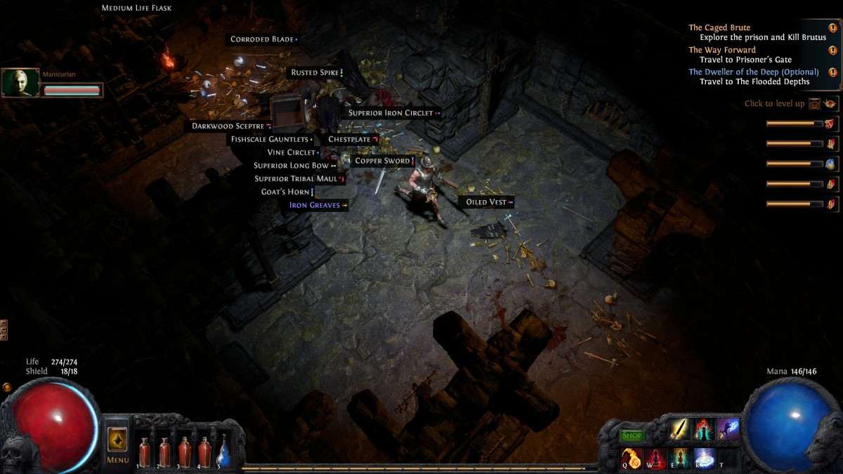 Free Game Review: Path of Exile