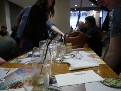 Wagamamas was fantastic! We were well catered for and we had a nice pre-meet turnout of 10 people.