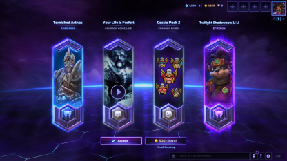 New Loot Crates in Heroes of the Storm