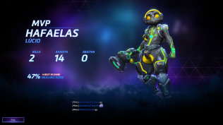 MVP system is still the same - New character, Lucio.