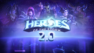 Heroes of the Storm Update Loading