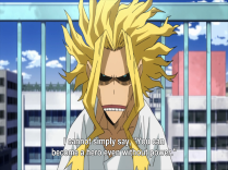 The real All Might!