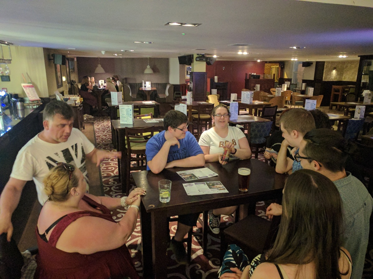 GeekOut Shrewsbury Meet – May '17