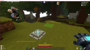 Transporters - Interact with it, then click the active teleporter you want to go to. Everyone gets one!