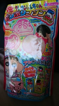 Shin-Chan branded dessert! As of time of writing, we still haven't eaten this yet... but we will!