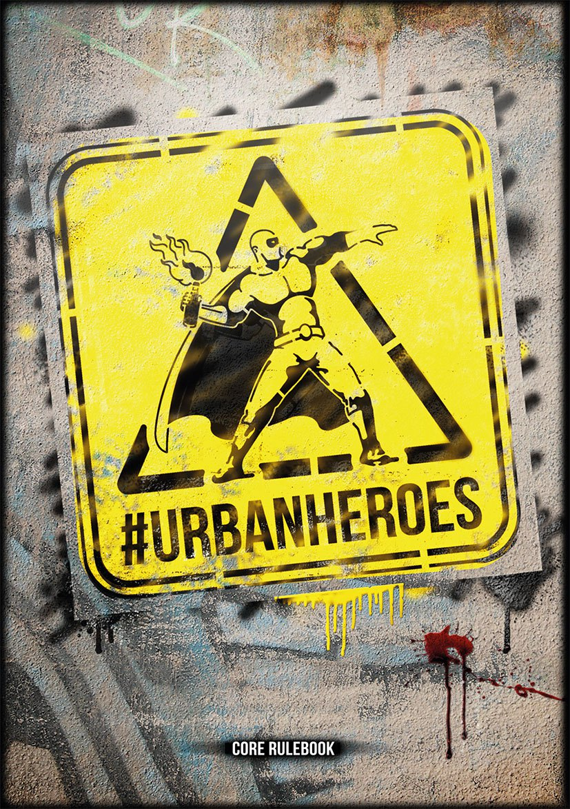 Urban Heroes RPG – Tin Hat Games – Intro