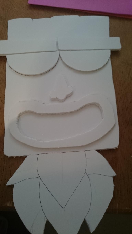 "How To Make Quick & Easy ""Tiki"" Masks | GeekOut UK"