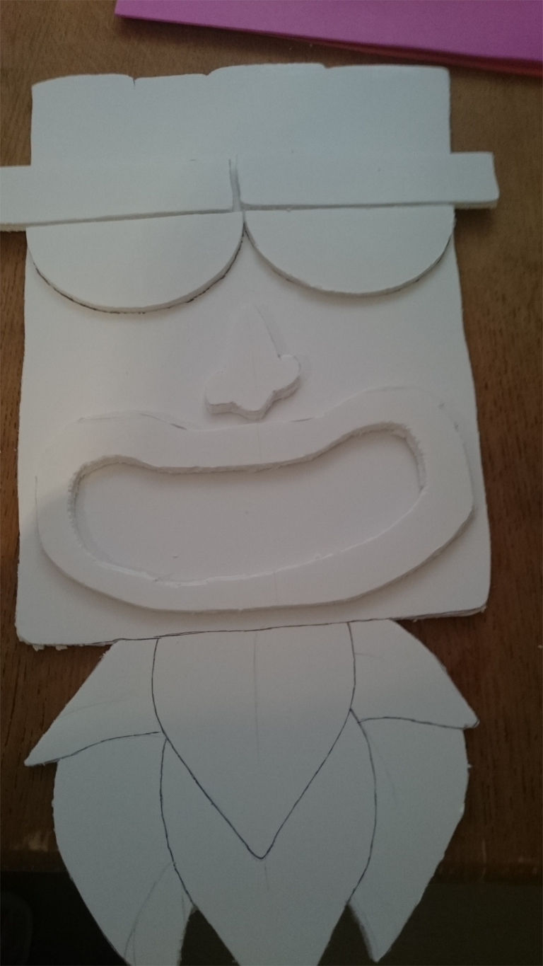 "How To Make Quick & Easy ""Tiki"" Masks"