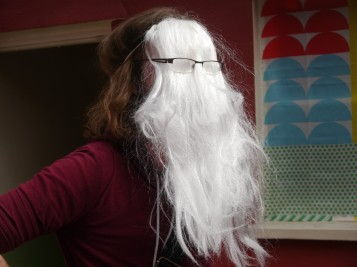 Timlah Gandalf cast a spell: Cousin It-ify!