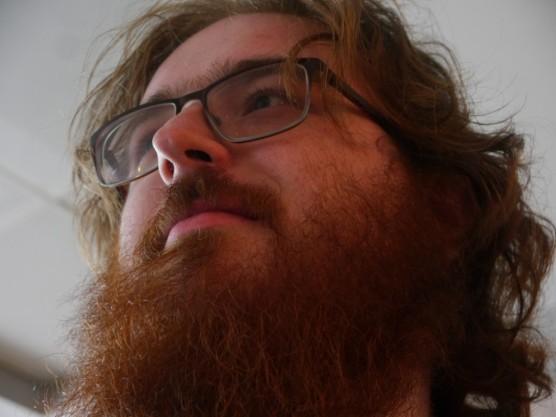 The beard has grown!
