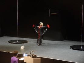 Cruella's act was amazing!!