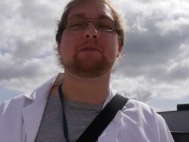Dave finally realised I had a camera