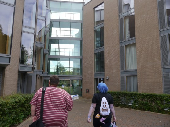 One of the accommodation blocks for Kitacon