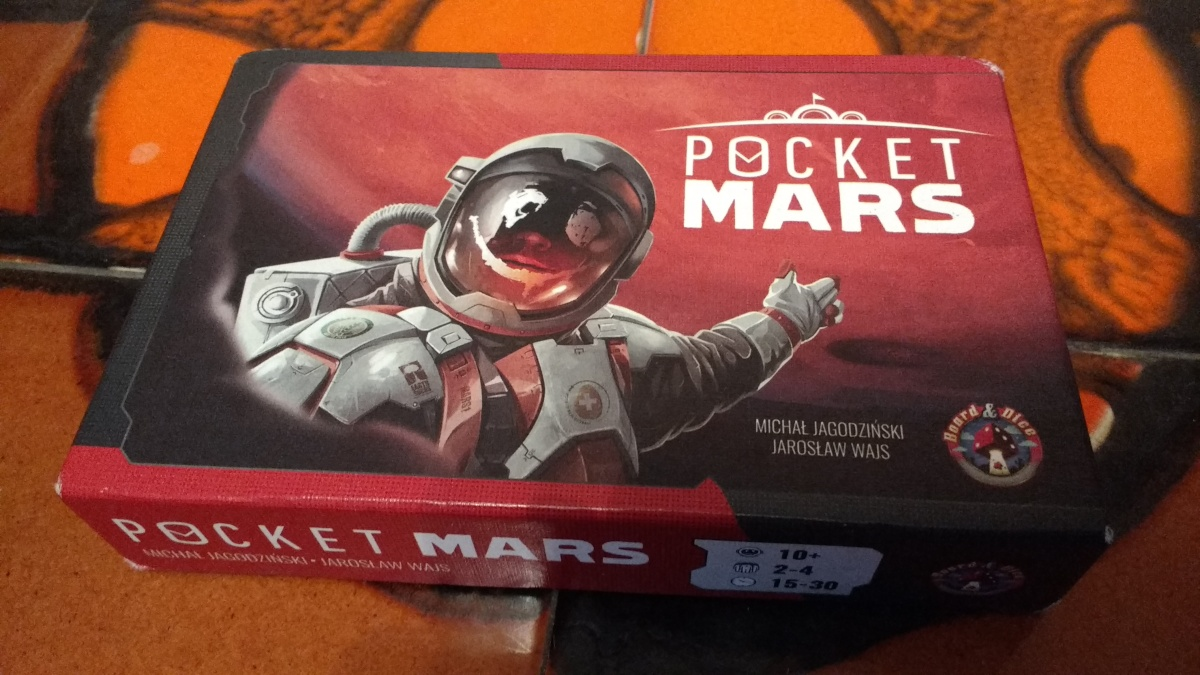 Pocket Mars – Board game review