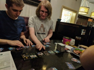 Star Realms with Murray's over-tall deck
