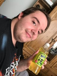 Fanta Kiwi + E - So refreshing (Especially since we tried these when we got home at 1am, the night GeekOut finished!