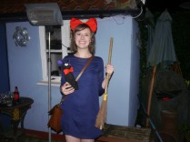 This fantastic Kiki's Delivery Service costume!