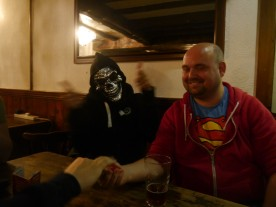 This skeletor mask was amazing!