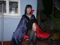 Our third place, no she wasn't Elvira, but she got called that a lot!
