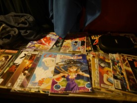 Our comics table was popular as ever