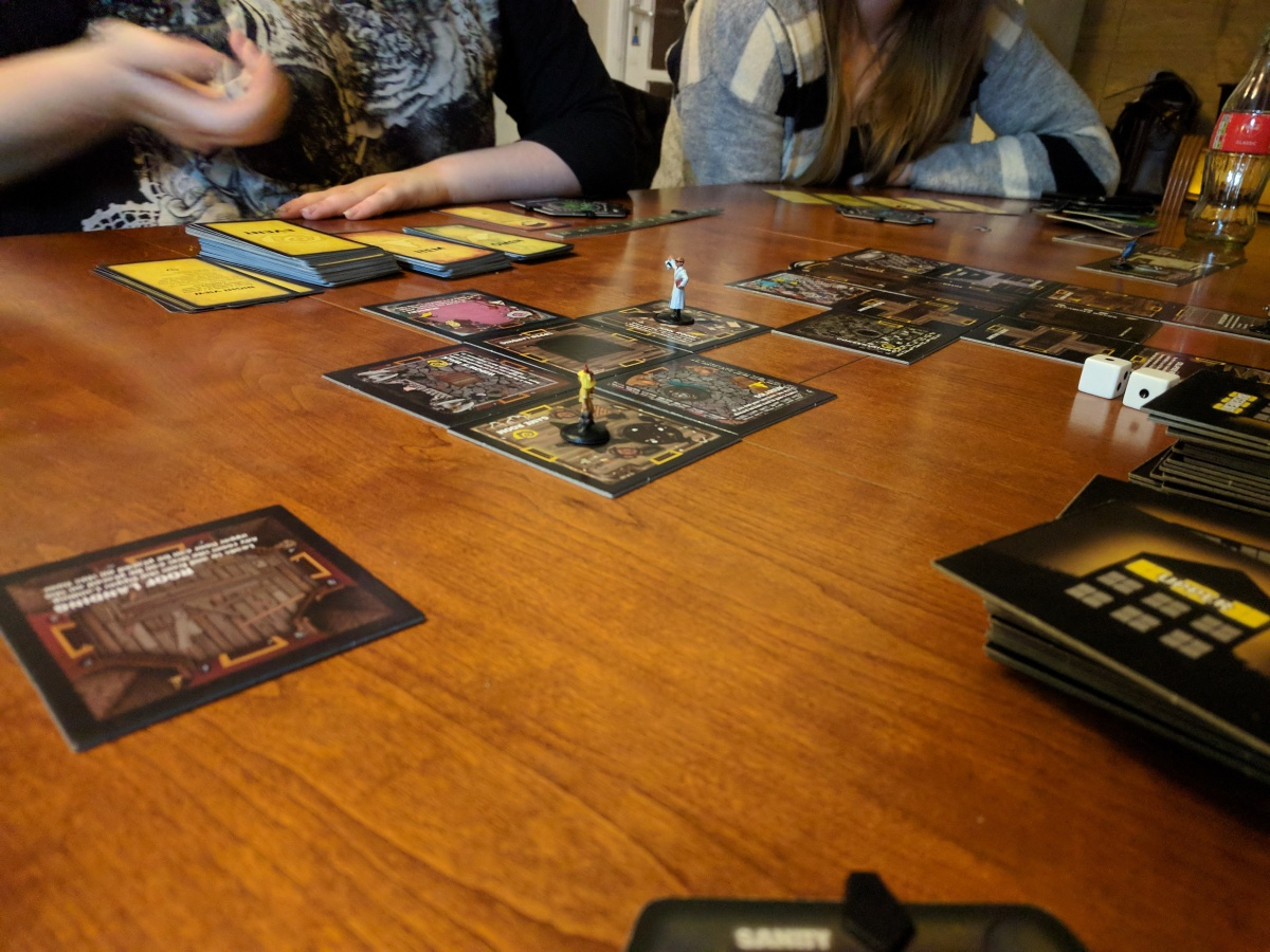 Can Board Games BeScary?