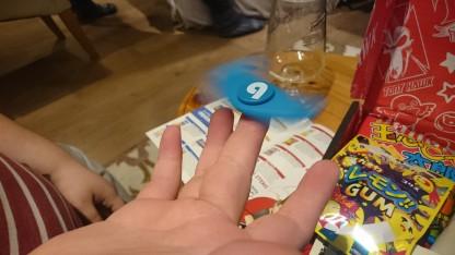 Spin away little spinner!