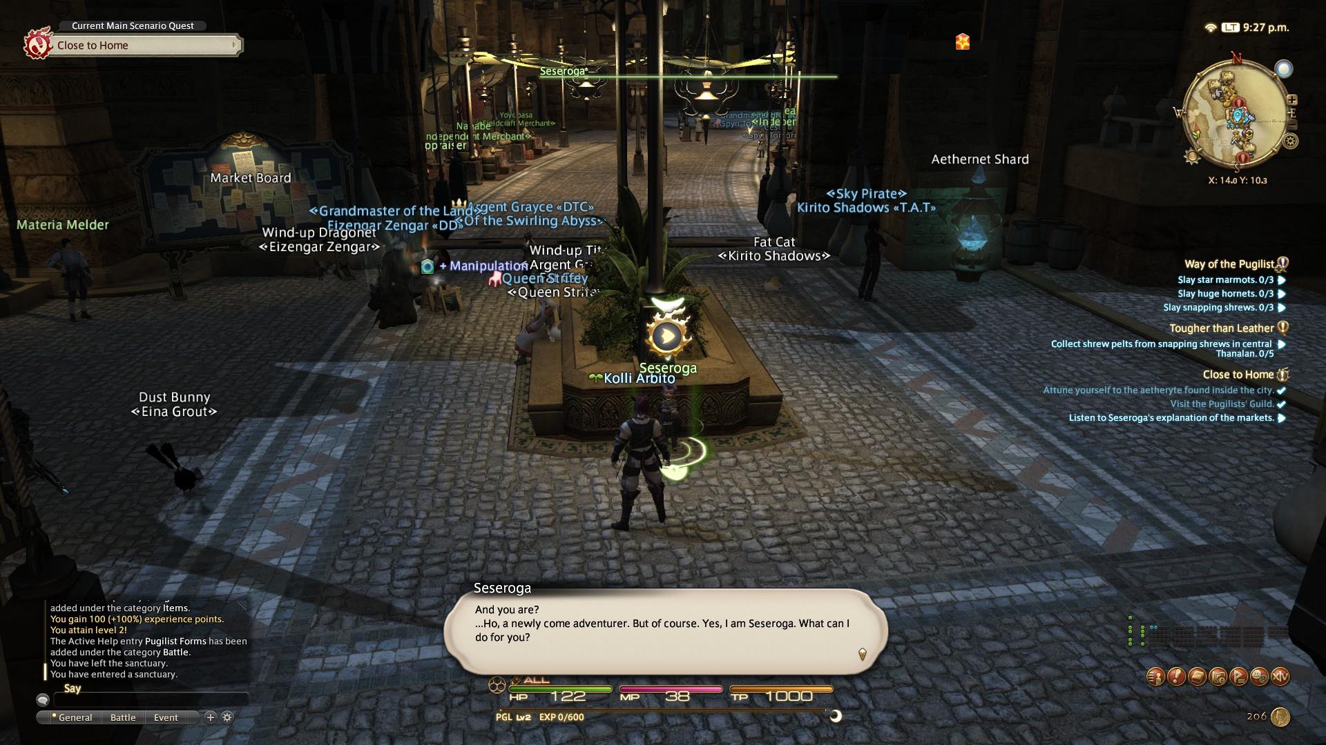 Video Game Review: Final Fantasy XIV: A Realm Reborn (Trial