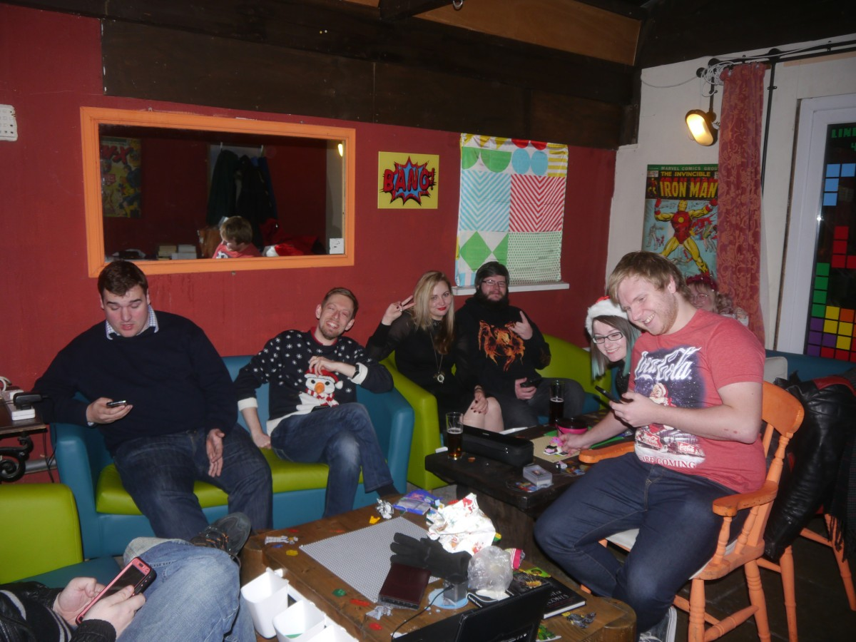 GeekOut Bristol Meet – New Years Eve Into 2018!