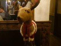 Even this amazing giant reindeer!