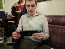 Cheers for bringing the Switch with you Callum