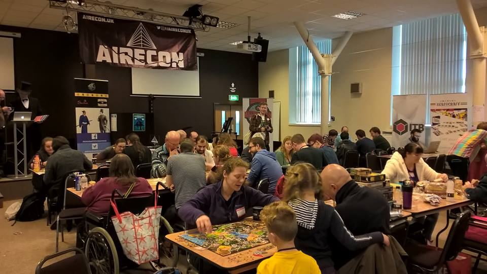 AireCon – An analogue gaming convention in Yorkshire