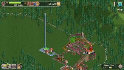 RollerCoaster Tycoon Classic 17