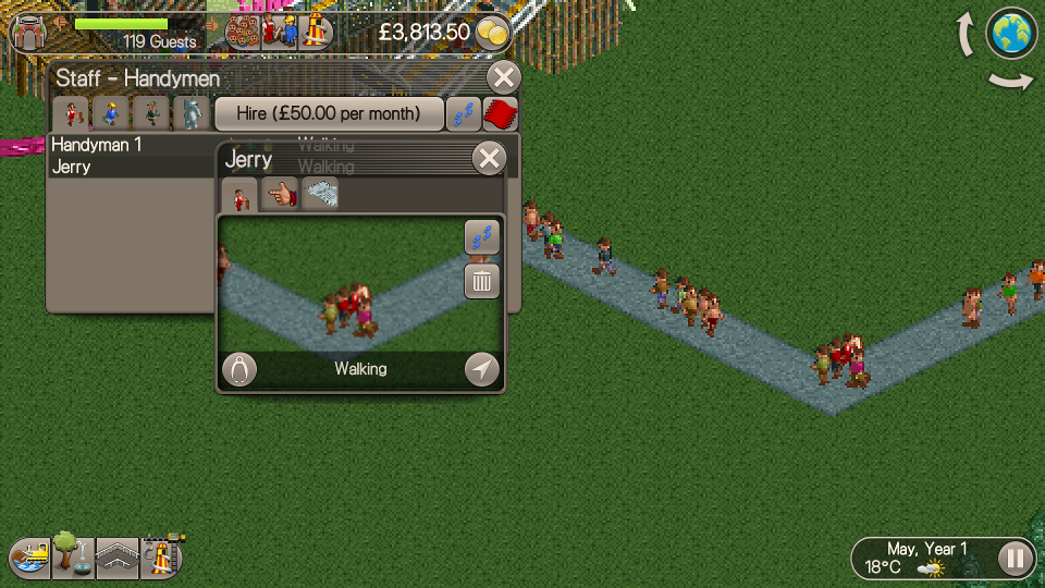 Video Game Review: Roller Coaster Tycoon Classic | GeekOut UK