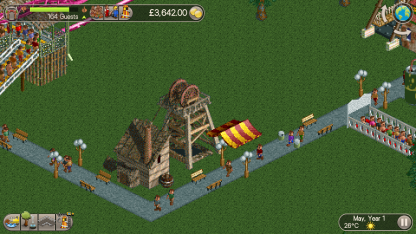 RollerCoaster Tycoon Classic 9