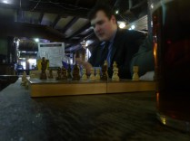 Chess in action (courtesy of our friend Patrick)