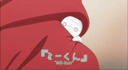 Given the mummy a name: Mii-Kun!