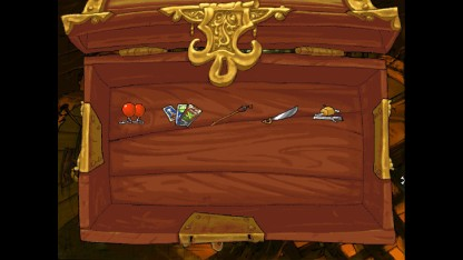 The inventory screen - Accessed by right clicking or pressing I
