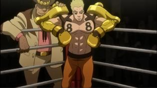 A fighter wearing Gear