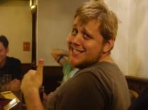 Erik gives us a thumbs up!