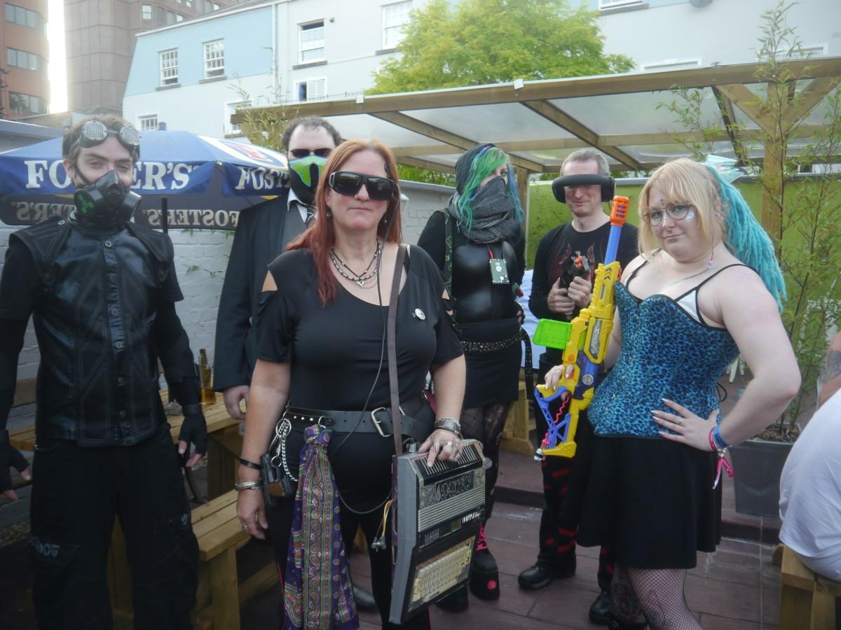 GeekOut Bristol Meet: July 14th –Cyber-Punked